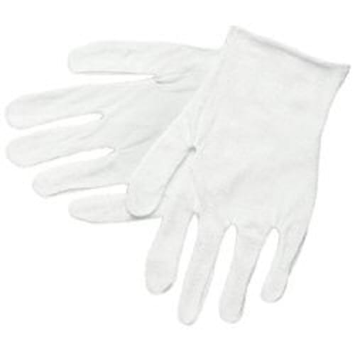 Reversible/Unhemmed Cotton Inspectors Gloves