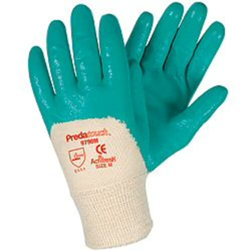 PredaTouch Nitrile Thin-Coated Gloves