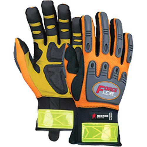 ForceFlex Hi-Vis Kevlar Gloves, L
