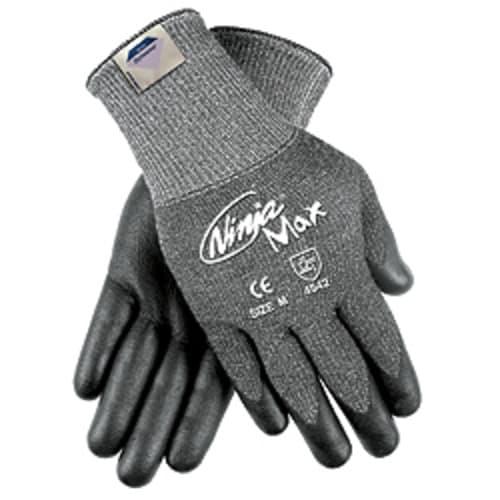 Ninja Max Bi-Polymer Coated Cut-Resistant Gloves