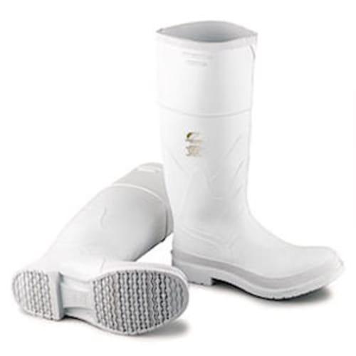 PVC boots, steel toe