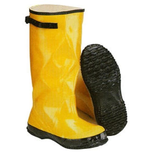 "17"" Yellow overboots"