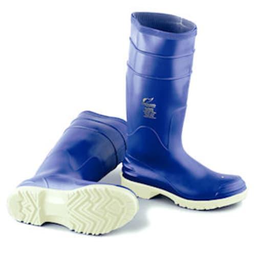 Bluemax knee boots, steel toe