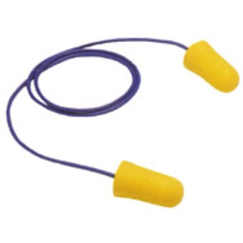 3M E-A-R TaperFit 2 corded earplugs provide a comfortable, individualized fit and excellent attenuation. Its smooth foam expands in the ear canal to help provide comfortable hearing protection.