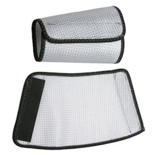 "Cane Nylon Mesh Sleeves 9"" White"