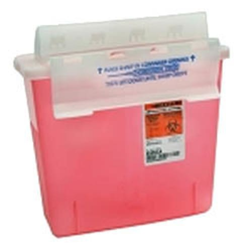 CONTAINER, SHARPS 5 QT