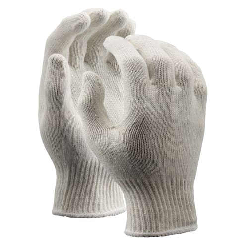 String Knit Gloves, Lightweight, 10 Gauge
