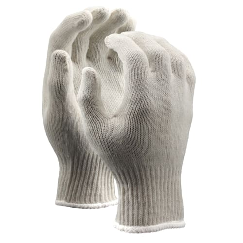 String Knit Gloves, Medium Weight, 7 Gauge