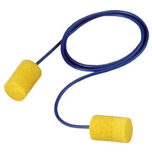 3M E-A-R Classic corded earplugs set the standard in hearing protection as the world's first foam earplugs. Constructed from slow-recovery foam, these disposable earplugs are uniquely moisture-resistant.