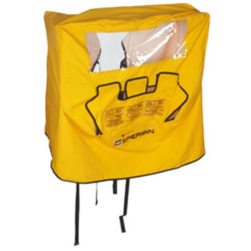 Eyewash Station Dust Cover, Nylon, Yellow