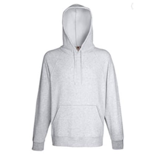 Hooded Gray Sweatshirt