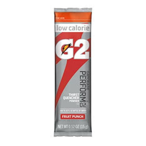 Gatorade G2 Low Calorie Powder Stick Fruit Punch