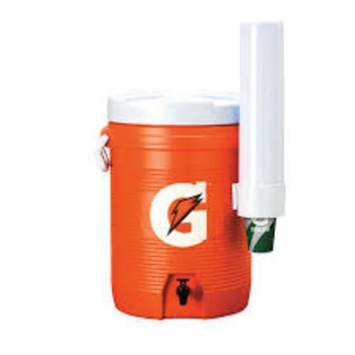 Cooler w/ fast flow spigot
