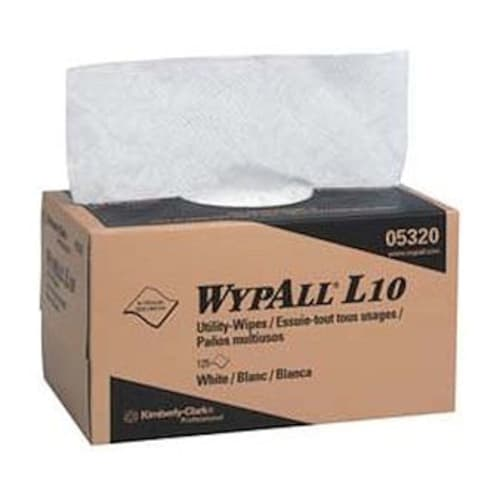 Wipes,Utility Whitee Wypall 2Ply