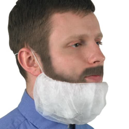 KLEENGUARD* A10 Light Duty Beard Cover
