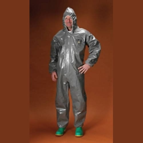 ChemMAX 3 encapsulated suit, rear entry, flat back