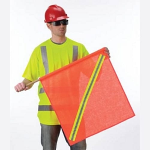 Reflective Warning Flags