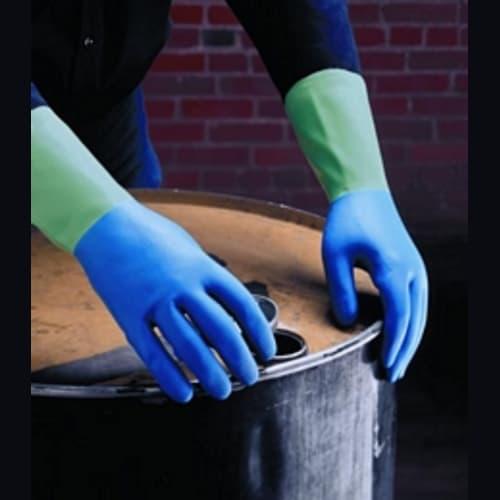 PROTECTOR/AFR-282 Nitrile/Natural Rubber Gloves