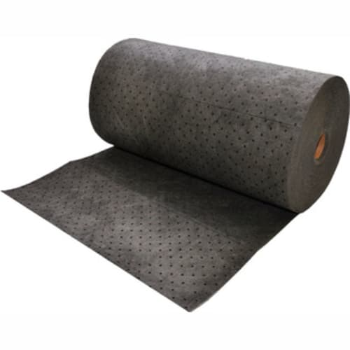 Gray Dimpled Mediumweight. Universal Sorbent Roll