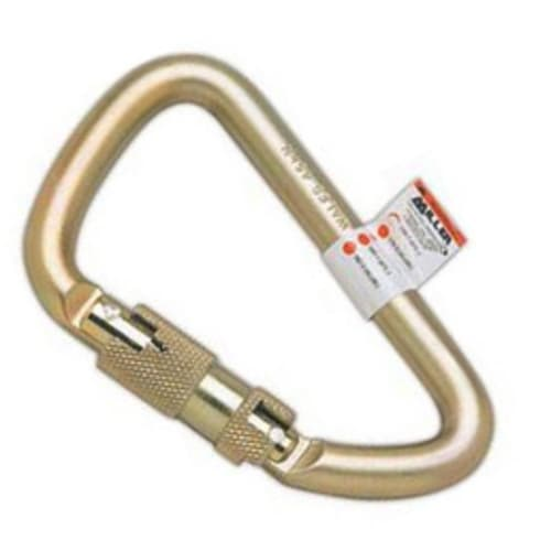 Miller Twist-Lock Carabiner, 1 in, 400 lb