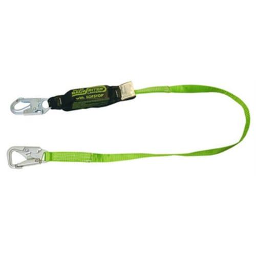 Miller Shock Absorbing Tie Back Safety Lanyard, 6 ft, 310 lb