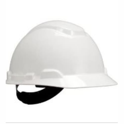 Hard Hat, Non-Vented, 4-Pt. Pinlock Suspension, White