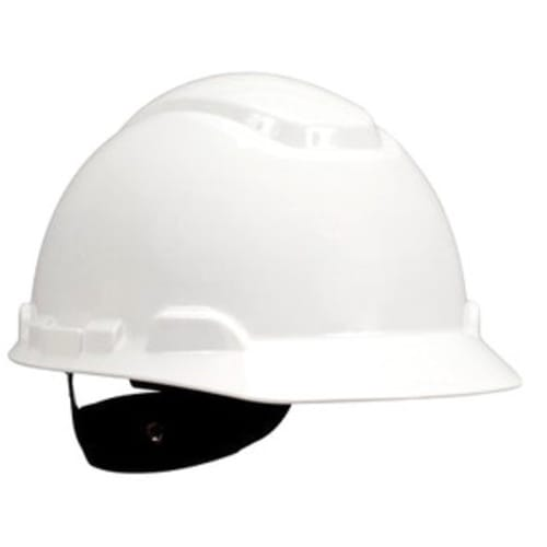 HARD HAT,WHITE 4PT