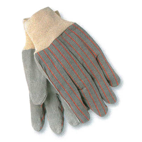 Split Shoulder Clute Cut Leather Palm Gloves