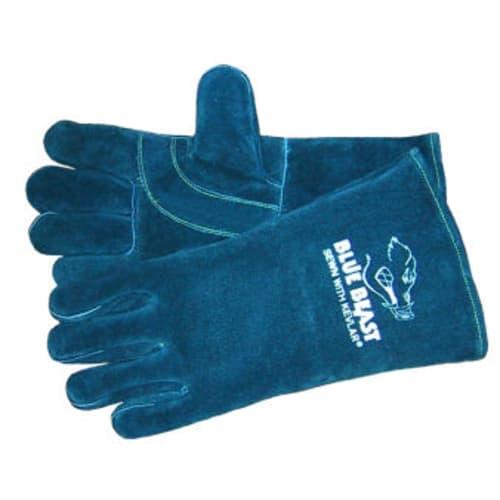Blue Beast Leather Welders Gloves