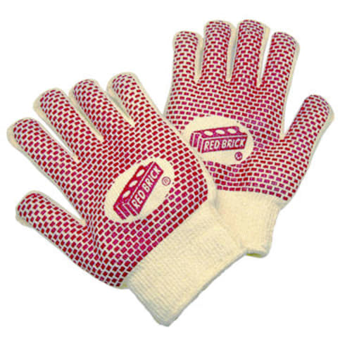 Red Brick Heavyweight Terry Cloth Gloves