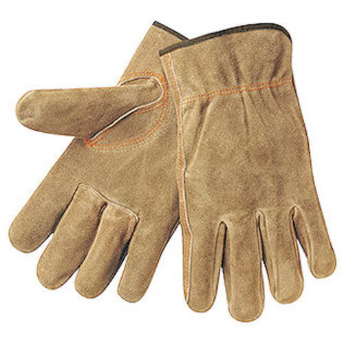 Cow Split Leather Drivers Gloves