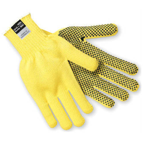 Kevlar Cut-Resistant PVC Dotted Gloves