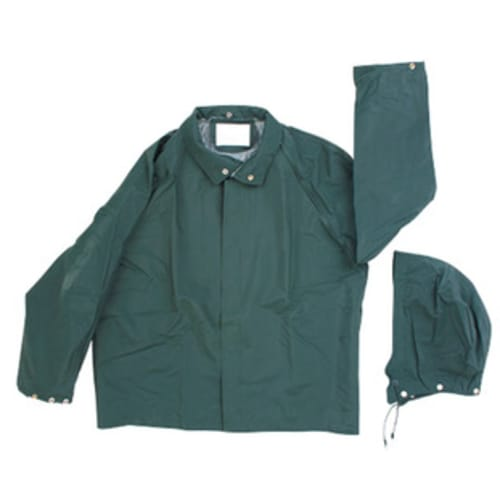 PVC/Polyester Rainjacket, Green