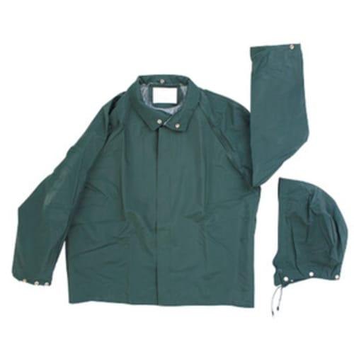 PVC/Polyester Rainjacket, Green