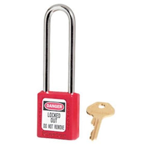 Red Safety Padlock