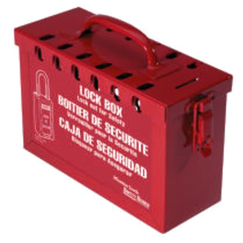 Group Lock Box - Red