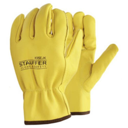 Cowhide Drivers Gloves with Kevlar Stitching, Keystone Thumb