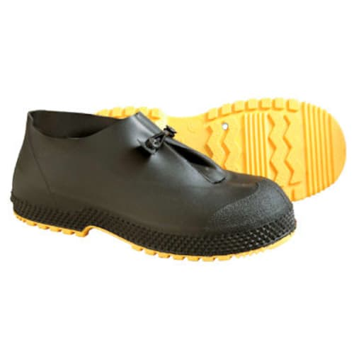 SF Overshoe Hi-Cut Safety Boot, Large, PVC