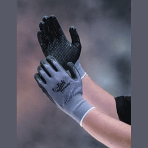 G-Tek MaxiFlex Plus Nitrile-Coated Nylon Gloves