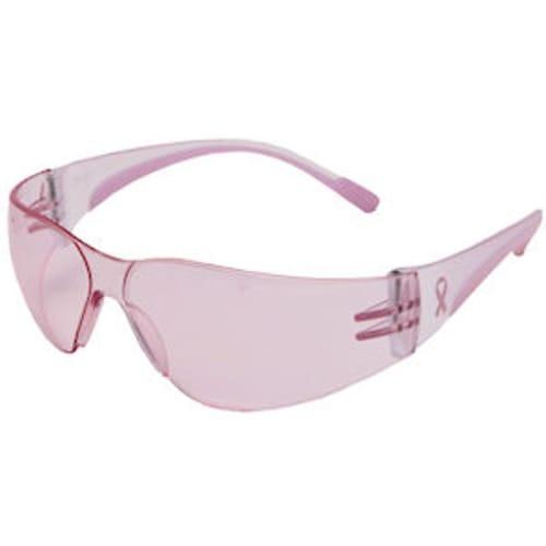 Eva Women's Eyewear, Light Pink Polycarbonate Lens, Anti-Scratch,