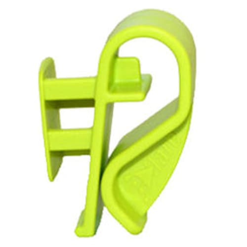 E-Flare, Cone Mounting Clip, Abs Plastic, Flourescent Lime
