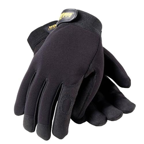 Professional Mechanics Gloves, Black