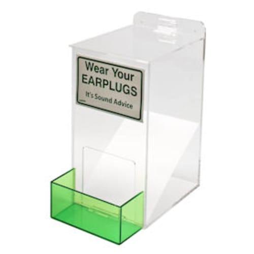 Acrylic Earplug Dispenser