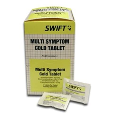 Cold Relief Tablets, Multi-Symptom