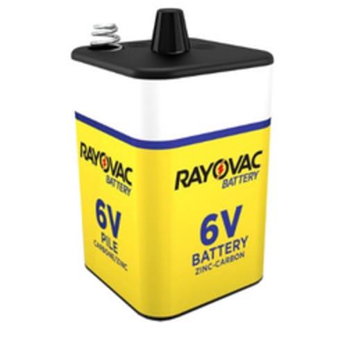 6V Heavy Duty Spring Terminal Lantern Battery