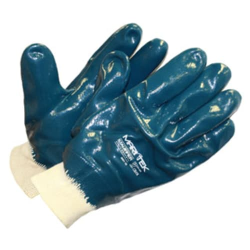 MariTek™ Fully Coated Nitrile Glove, Jersey Liner, Knit Wrist