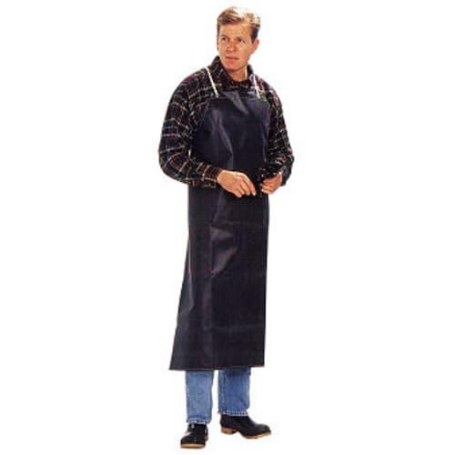 Reinforced neoprene bib-style apron, 12 1/2 oz.