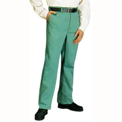Flame-Resistant Green Whipcord Pants