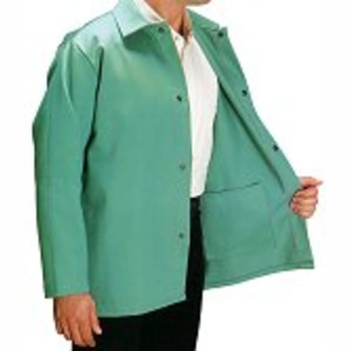 FR Green Sateen Jacket