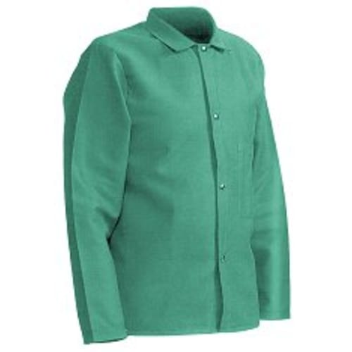 Flame Resistant Green Sateen Jacket